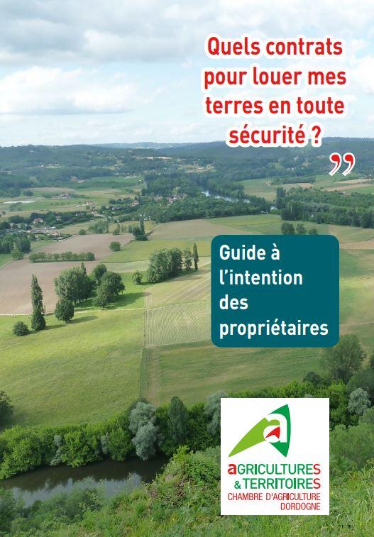 Livret d'informations des propriétaires fonciers